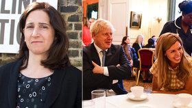 """Premiér Johnson si užívá s """"vydřičkou"""". Jeho manželka zatím bojuje se zákeřnou nemocí"""
