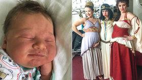 Muzikálová kráska utajila porod! Syn dostal jméno podle její oblíbené komedie