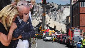 Pád mostu v Janově zabil 43 lidí. Kardinál zmínil dechberoucí apokalypsu