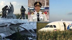 Zázrak v kukuřici: Airbus byl ve středu v Praze. Jeho pilot je v Rusku hrdina