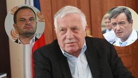 Klaus po výpadu Zemana na ČSSD zmínil skřípání zubů: Zoufal jsem si mnohokrát