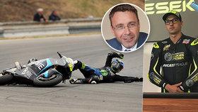 V Česku zemřelo 91 motorkářů. Kremlík do osvěty zapojil i závodníka Peška