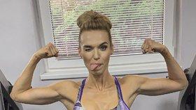 Z modelky svalovcem: Sexbomba Mašlíková se mění v chlapa?!