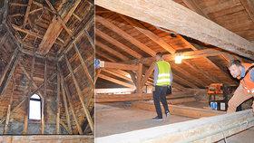 Dřevomorka požírá Národní dům ve Frýdku-Místku: Kulturní památku za miliony zachraňují