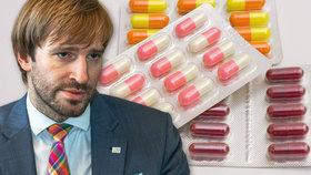 Krize s nedostatkem léků má zahnat novinka. Vojtěch čelil kritice, že se problém prohloubí