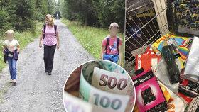 Samoživitelce Monice nezbývají peníze na kroužky dětí, jiní nemají ani na obědy