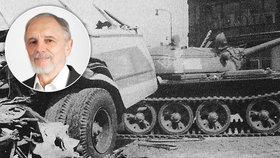 """""""Zdeňka (†21) srazil tank, dával jsem mu dlahu."""" Oběti srpna 1968 pomáhal Vladimír"""