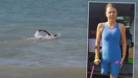 """""""Mám to!"""" Češka Markéta Pechová překonala La Manche bez nohy a části plíce: Je první na světě!"""