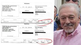 Gott nechal nahlédnout do účetnictví: Kolik má v bance?