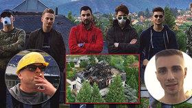 Válka kvůli požáru Krejčířovy vily: Youtubeři obvinili muže, který ji podle nich zapálil!