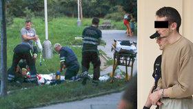 Krvavý masakr ve Stodůlkách: Ukrajinec (19) pobodal dva lidi! Má schizofrenii, skončil v Bohnicích