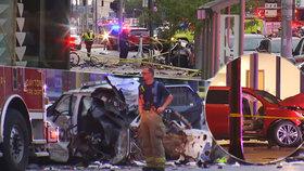 Delikvent ujížděl policejním vozem: Při bouračce zabil dvě děti a několik dalších zranil!