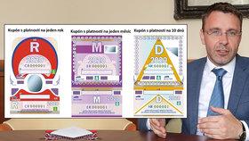 Zeman podepsal elektronické dálniční známky. Takhle budou vypadat poslední papírové