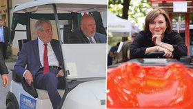 Zeman na vozíku i Schillerová na traktůrku. Zemi živitelku navštívilo přes 123 tisíc lidí