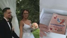 Šok po svatební noci: Desítky tisíc ze svatebních darů zmizely novomanželům v nenávratnu
