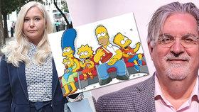 Sexuální otrokyně Epsteina (†66) masírovala nohy tvůrci Simpsonových: Měl plesnivé nehty, naříkala