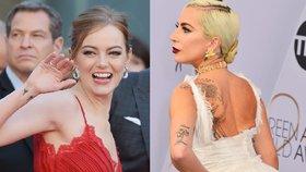Celebrity a jejich tetování: Kdo má na sobě svoji babičku, myš nebo ptačí pařátky?