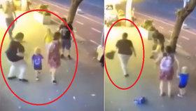 Brutální napadení na ulici: Žena pořezala tříletého chlapce v obličeji!