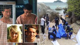 Trest smrti za vraždu Davida s přítelkyní v dovolenkovém ráji! Vrazi je ubili motykou!