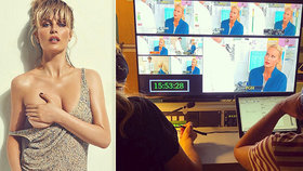 Modelka Simona Krainová v televizi: První záběry z natáčení Ordinace!