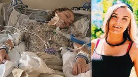 Kráska skončila po vapování v kómatu. Elektronická cigareta jí způsobila vzácnou nemoc