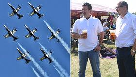 Hamáček s pivem a na nebi gripeny. Velká letecká akce v Hradci ukáže přes 40 strojů