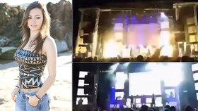 Krásnou zpěvačku (†30) zabila pyrotechnika na jevišti přímo před očima fanoušků! Hudební svět truchlí