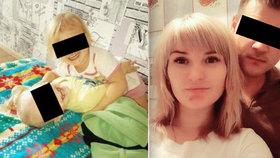 Vladislava (23) utýrala synka (1†) a dceru (2) mučila hlady 11 dní: U soudu se smála a tleskala!
