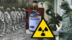 Vodkou proti radioaktivitě? V Černobylu byla na příděl, dnes mizí z regálů