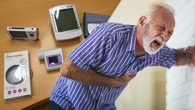 Světový unikát: Pacienty s vysokým tlakem léčí lékaři na dálku! Přístroje mají doma