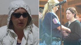 Vražedkyni Janákovou zatkli! Do cely putovala kvůli podezření z křivého obvinění