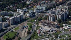 Nová dlažba i dětské hřiště: Magistrát nechá za 64 milionů zrekonstruovat náměstí v Hloubětíně