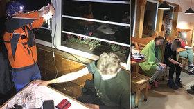 Skupinu českých studentů v Tatrách zničila střevní krize: Jeden zásah horské služby nestačil!