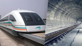 Obří vlaky pod zemí a páteřní tunel. Železnice v Praze naroste do nebývalých rozměrů