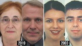 Mrazivá podoba: Marie a Přemysl zmizeli stejně jako v roce 2003 Kadlecovi. Doteď je nikdo nenašel