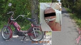 Motorkář v bezvědomí nikomu nechyběl: Po dvou dnech se ozvala exmanželka