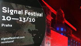 Obří projekce na Vltavě! Signal Festival chystá spektakulární show se čtyřmi lasery