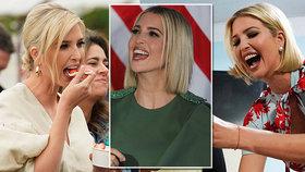 Ivanka Trumpová se předváděla v Jižní Americe. Vynesla nový účes i šaty za statisíce