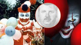 """Vražedný klaun z hororu """"TO"""" skutečně existoval: Desítky mrtvol v kuchyni a nechutnost na rozloučenou"""