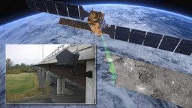 Konec katastrofám? Mosty v Česku hlídají družice, projekt zaujal i Brity