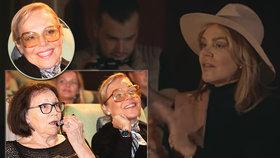 Havlová poprvé ve videoklipu: Na premiéře se smála na celé kolo!