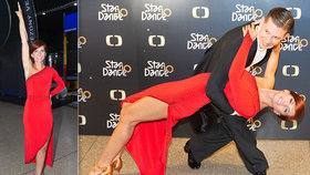 Odvážná Nora Fridrichová ve StarDance: Dře na postavě a chce ukázat přednosti!