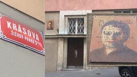 Toyen na Žižkově ukrývala mladého Žida před nacisty: Její statečnost připomíná pamětní deska
