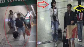 Vteřina nepozornosti a peněženka byla fuč: Policie z krádeže v metru podezřívá mladý pár