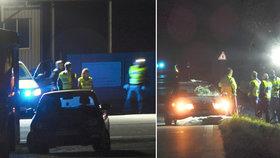 Řidič octavie na Litoměřicku srazil cyklistu, ten na místě zemřel