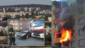 Při požárech jde o vteřiny! Kvůli nezodpovědným řidičům je hasiči ztrácí, nejhůř je na sídlištích