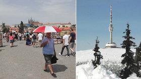 První sníh v Česku a ranní mrazíky: Meteoroložka přiblížila razantní ochlazení
