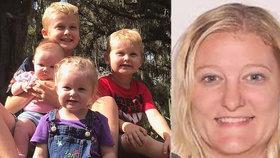 Pohřešovaná máma a její čtyři děti jsou mrtvé: Otec prý 4 týdny skrýval jejich těla!
