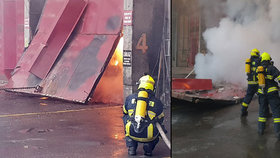 Obyvatele Liberce vyděsil nepříjemný zápach: Místní spalovnu zachvátil požár!