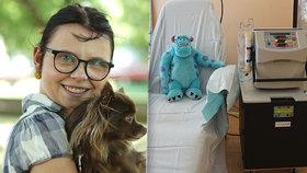 Bojovnice Nella (20) nemá ledviny, žije jen díky otvoru ve stehně! Jsem vděčná za každý nový den, vzkazuje
